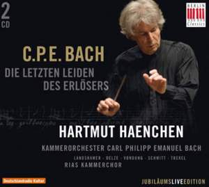 Bach, C P E: Die letzen Leiden des Erlösers, Wq. 233 (H776) Product Image