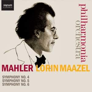 Mahler: Symphonies Nos. 4-6 Product Image