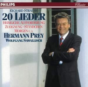 R. Strauss: 20 Lieder Product Image