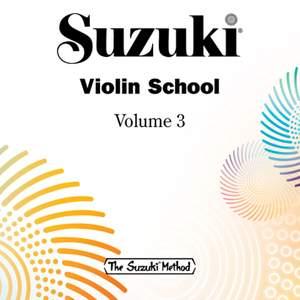 Suzuki Violin School, Vol. 3 Product Image