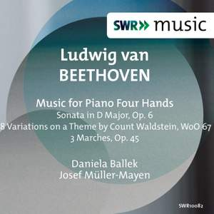 Beethoven: Music for Piano Four Hands