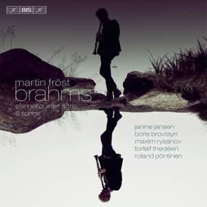 SACD Brahms Clarinet Music