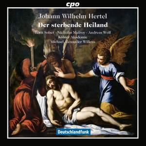 Hertel, J W: Der sterbende Heiland