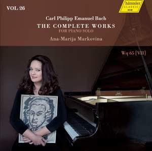 C.P.E. Bach: The Complete Works for Piano Solo, Vol. 26