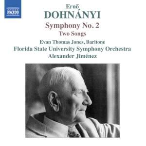 Dohnányi: Symphony No. 2 & Two Songs