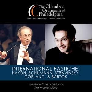 International Pastiche: Haydn, Schumann, Stravinsky, Copland & Bartók