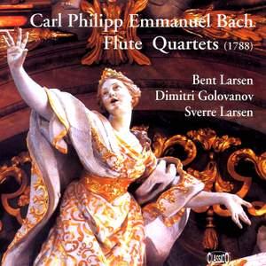 CPE Bach: Flute Quartets