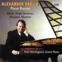 Alexander Vaulin: Piano Recital