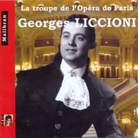 Singers of the Paris Opera - Georges Liccioni