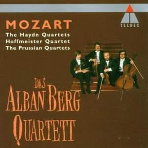 Mozart: The Haydn Quartets, Hoffmeister Quartet and The Prussian Quartets