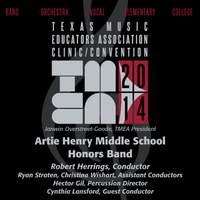 2014 Texas Music Educators Association (TMEA): Artie Henry Middle School Honors Band