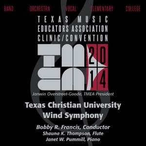 2014 Texas Music Educators Association (TMEA): Texas Christian University Wind Symphony [Live]