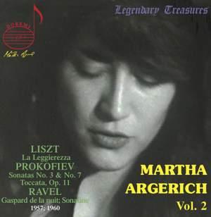 Martha Argerich Vol. 2 - Liszt, Prokofiev, Ravel