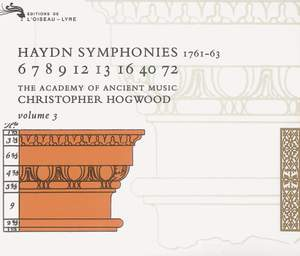 Haydn: Symphonies Vol.3