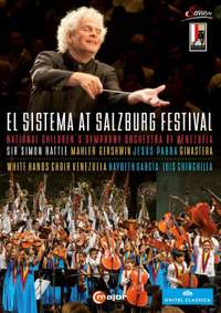 Simon Rattle et al. conducts at the El Sistema At Salzburg Festival