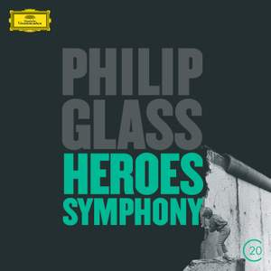 Philip Glass: Violin Concerto & Symphony No. 4 'Heroes' Product Image