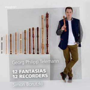 12 Fantasias 12 Recorders Product Image