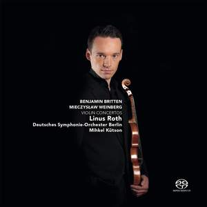 Weinberg & Britten: Violin Concertos Product Image
