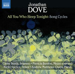 The English Song Series Volume 23 - Jonathan Dove Song Cycles