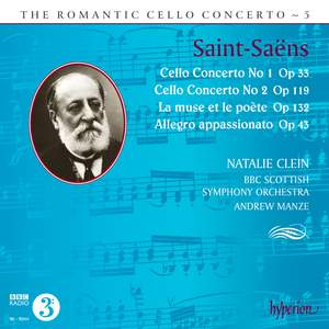 The Romantic Cello Concerto, Vol. 5: Saint-Saëns Product Image
