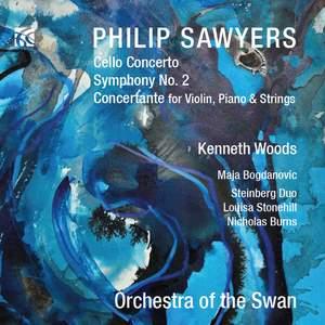 Philip Sawyers: Cello Concerto & Symphony No. 2 Product Image