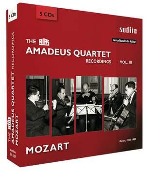 The RIAS Amadeus Quartet Recordings Vol. 3: Mozart