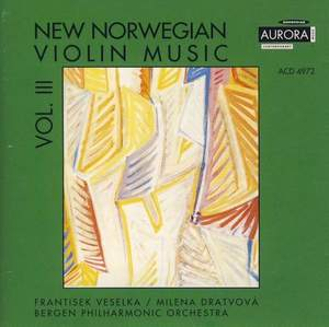 New Norwegian Violin Music Vol. III