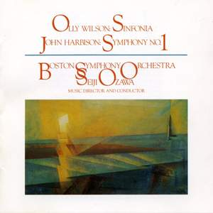 Wilson: Sinfonia & Harbison: Symphony No. 1 Product Image