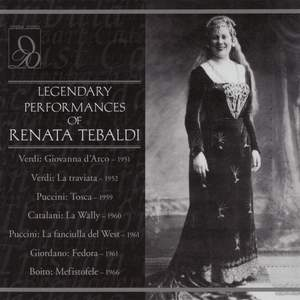 Legendary Performances Of Tebaldi
