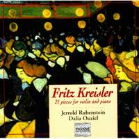 Fritz Kreisler: 21 Pieces for Violin and Piano