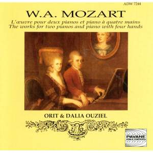 Mozart: The Works for Two Pianos and Piano With Four Hands