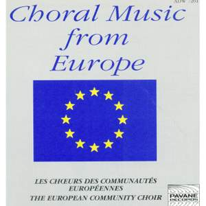 Choral Music from Europe Product Image
