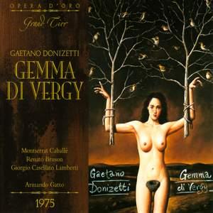 Donizetti: Gemma Di Vergy Product Image