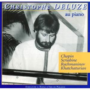 Christoph Deluze: Piano Recital