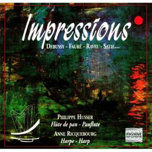 Impressions for pan flute and harp