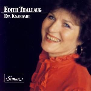 Edith Thallaug sings de Falla, Montsalvatge, Dvorak & Ravel