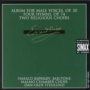 Grieg: Album For Male Voices & other choral works