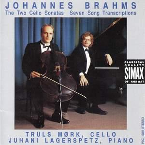 Brahms: Cello Sonatas & Seven Songs for Cello and Piano