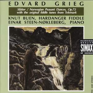 Grieg: Norweigian Peasant Dances, Op .72
