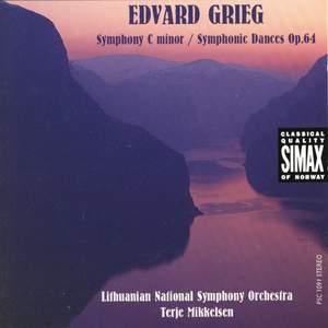 Grieg: Symphony in C minor & Symphonic Dances
