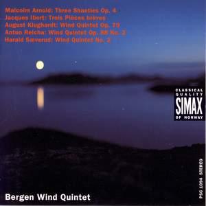 The Bergen Wind Quartet plays Arnold, Ibert, Klughardt, Reicha & Saeverud