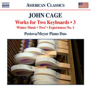 Cage: Works for Two Keyboards, Vol. 3