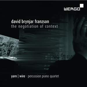 David Brynjar Franzson: the Negotiation of Context Product Image