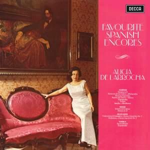 Spanish Piano Encores