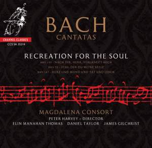 Bach Cantatas: Recreation for the Soul Product Image