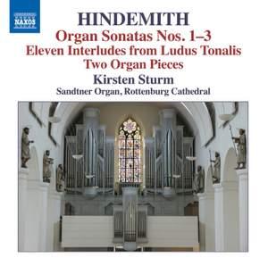 Hindemith: Organ Sonatas Nos. 1-3