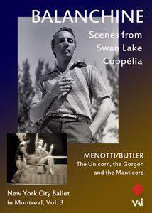 Balanchine: New York City Ballet in Montreal Vol. 3