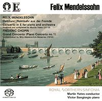 Mendelssohn: Heimkehr aus der Fremde & Concerto in E for piano and orchestra