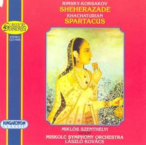 Rimsky-Korsakov: Sheherazade & Khachaturian: Spartacus Ballet Suite No. 1 Product Image
