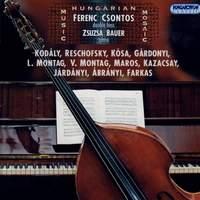 Gardonyi: Suite No. 1 in Old Style / Maros: Albumblatter / Kazacsay: Divertimento / Farkas: 4 Pezzi